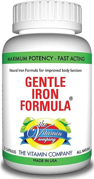The Vitamin Company Gentle Iron Formula 20 tablets