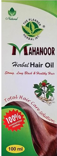 The Planner Herbal Mahanoor Herbal Hair Oil 100 ml