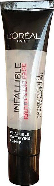 L'Oreal Paris Infallible Primer Matte Base 35 ML