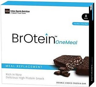 Indus Sports Nutrition One Meal Protein Bar 8 Bars