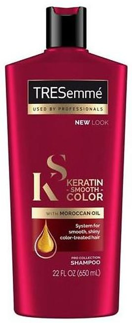 TRESemme Keratin Color Smooth Shampoo 650ML
