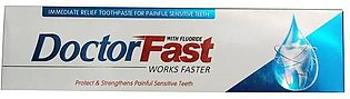 Doctor Fast Toothpaste  Works Faster With Fluoride 120g