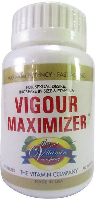The Vitamin Company Vigour Maximizer 10 Tablets