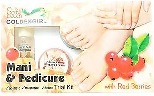 Golden Girl Soft Touch Mani & Pedi Cure Trial Kit