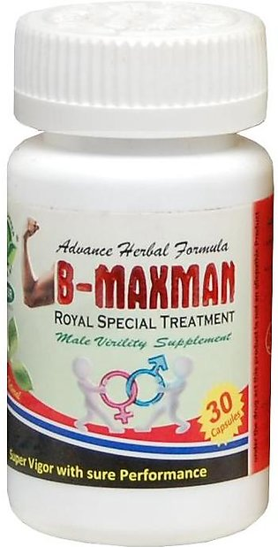 The Planner Herbal B-Maxman Royal Special Treatment 30 Capsules