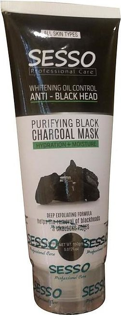 Sesso Purifying Black Charcoal Mask 150 Grams
