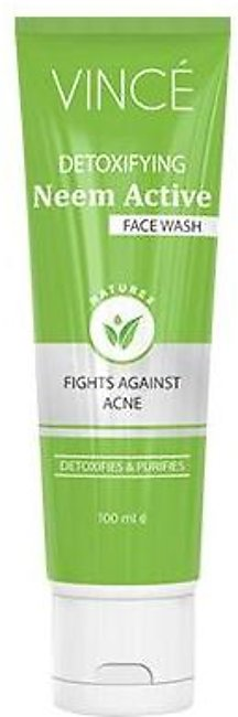 Vince Naturex Neem Active Face Wash 100 ML