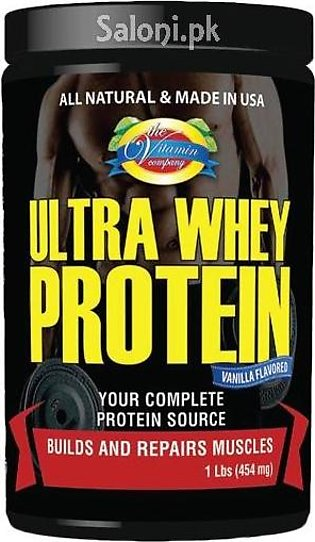 The Vitamin Company Ultra Whey Protein 1 LB (454 Grams)