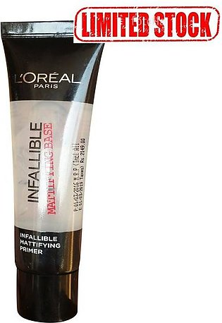 L'Oreal Paris Infallible Primer Matte Base 35 ML Limited Stock
