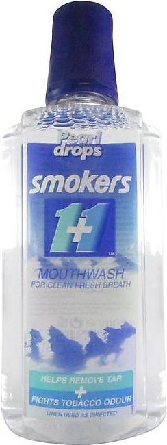Pearl Drops Smokers 1+1 Minty Mouth Wash 400 ML
