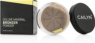 Cailyn Deluxe Mineral Bronzer Powder Berry With Gold