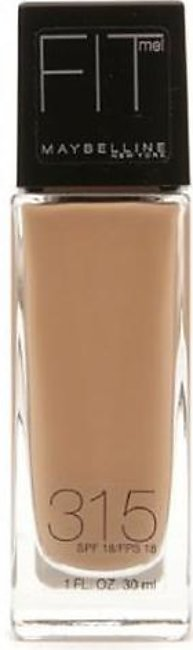 Maybelline Fit Me Foundation Soft Honey 315