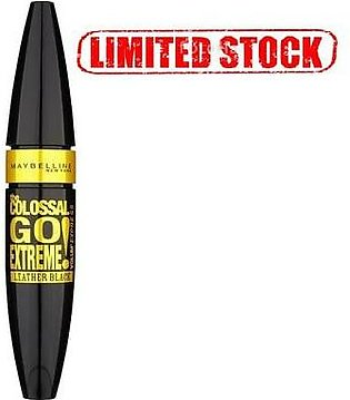Maybelline Colossal Go Extreme Mascara Leather Black (Limited Stock)