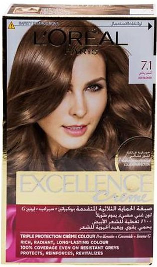 L'Oreal Excellence Cream Ash Blonde 7.1