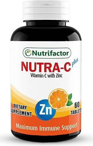 Nutrifactor Nutra C Plus 60 Tablets