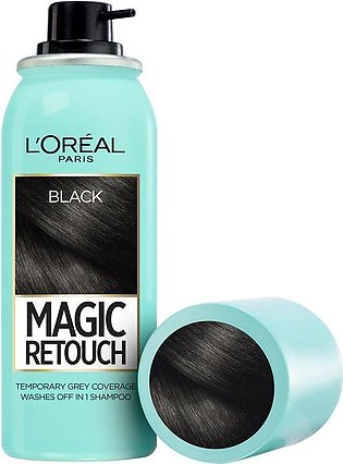 L'oreal Paris Magic Retouch Root Touch Up Hair Color Spray - Black 75ML