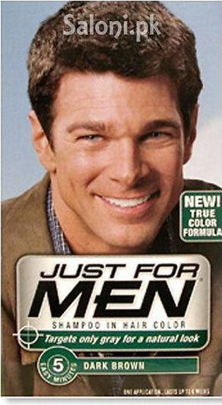 Just For Men Shampoo-In Hair Color Dark Brown H-45