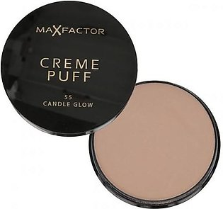 Max Factor Crème Puff Powder Compact Candle Glow 55