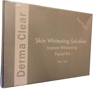 Derma Clear Skin Whitening Solution Instant Whitening Facial Kit Small