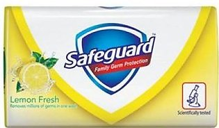 Safeguard Anti-Bacterial Lemon Fresh Bar Soap 145 Grams (Pack of 3)