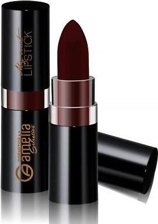 Amelia Matte Lipstick Dark Red 07