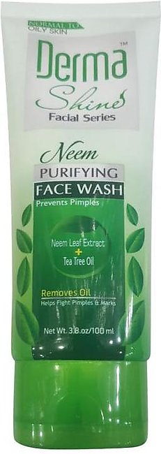 Derma Shine Purifying Neem Face Wash 100ml