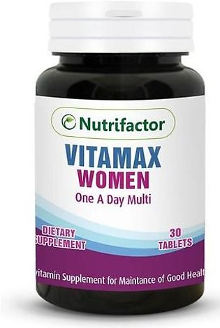 Nutrifactor Vitamax Woman 30 Tablets