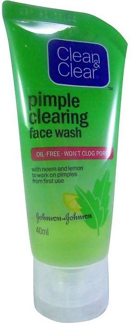 Clean & Clear Pimple Clearing Face Wash 80ml