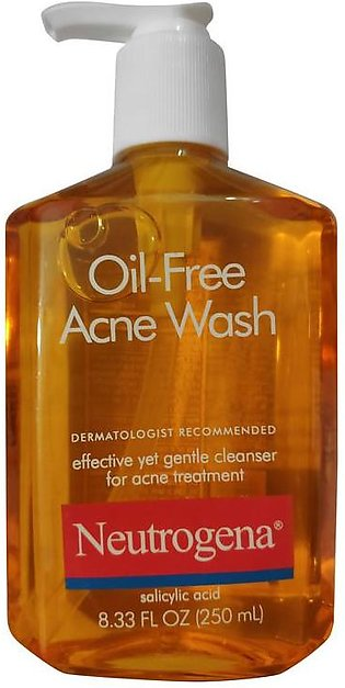 Neutrogena Oil-Free Acne Wash 250 ML