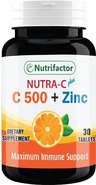 Nutrifactor Nutra C Plus 30 Tablets