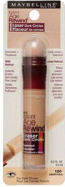 Maybelline Instant Age Rewind Eraser Dark Circles Treatment Concealer 120 Light
