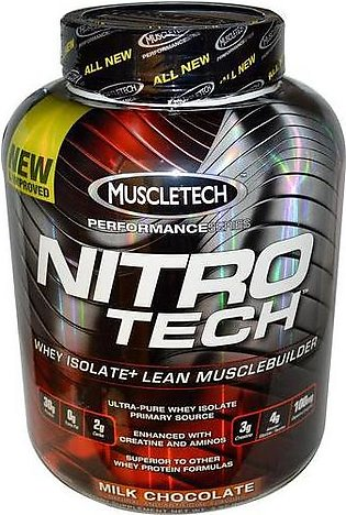 Muscletech Nitro Tech Whey Isolate + Lean Musclebuilder Milk Chocolate
