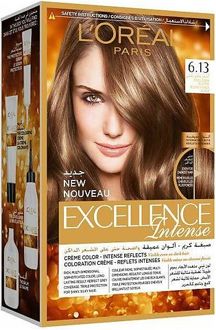 L'Oreal Excellence Intense Cool Dark Blonde 6.13