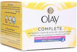Olay Essentials Complete Care Normal Dry Night Cream 50 ML