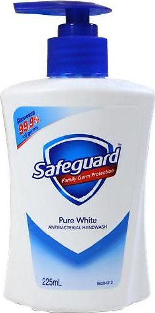 Safeguard Anti-Bacterial Pure White Liquid Hand Soap