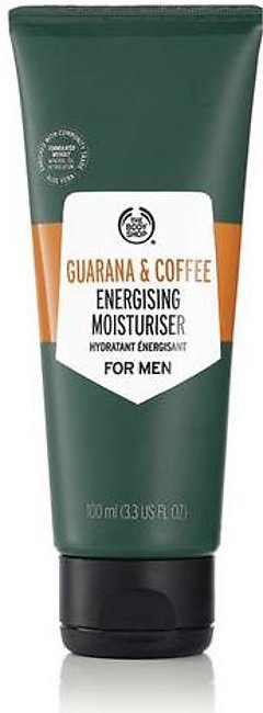 The Body Shop Guarana and Coffee Energizing Moisturizer For Men 100 ML