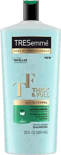 Tresemme Thick & Full Shampoo 650ML