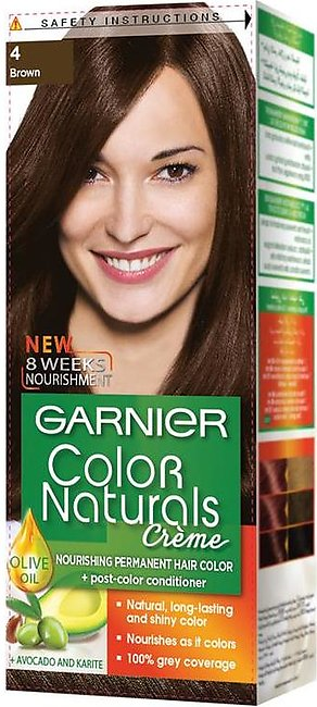 [EXPIRED] Garnier Color Naturals Hair Color Creme Brown 4