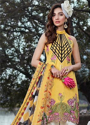 Asifa & Nabeel Embroidered Lawn Unstitched 3 Piece Suit AN20L Spring Blossom ...