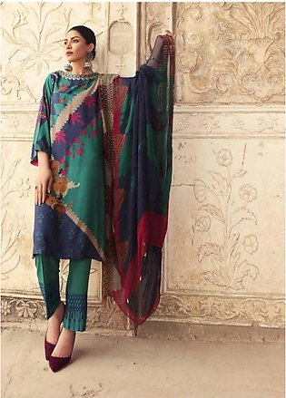 Sheen by Charizma Embroidered Viscose Unstitched 3 Piece Suit SHN19V 10 - Win...