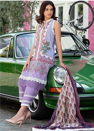 Sobia Nazir Embroidered Lawn Unstitched 3 Piece Suit SN20L 6B - Summer Collec...