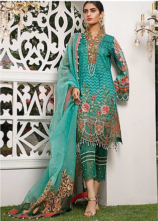 Marjaan by Sifona Embroidered Lawn Unstitched 3 Piece Suit MJ20SF 07 - Luxury...
