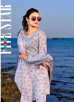 Five Star Printed Lawn Unstitched 3 Piece Suit FS20C 1008A - Spring / Summer ...