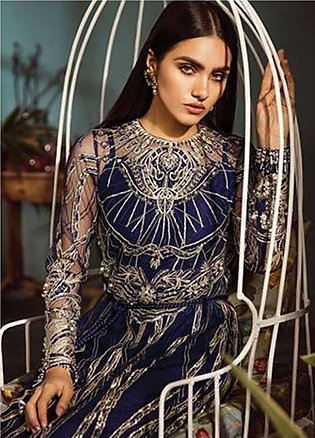 Freesia by Suffuse Embroidered Zari Net Unstitched 3 Piece Suit FRS19ZN 4 ARE...