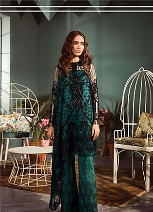 Freesia by Suffuse Embroidered Zari Net Unstitched 3 Piece Suit FRS19ZN 3 CYB...