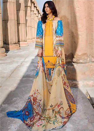 Umang by Motifz Embroidered Lawn Unstitched 3 Piece Suit MT20U 2532 - Summer Co…