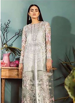 Freesia by Suffuse Embroidered Zari Net Unstitched 3 Piece Suit FRS19ZN 2 LAN...