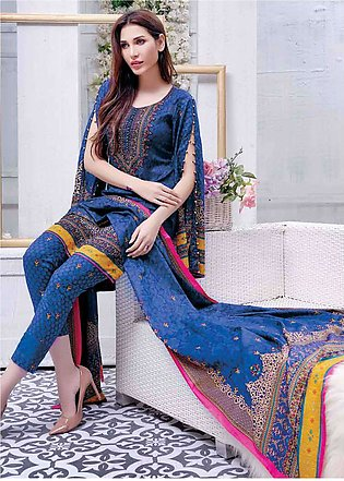 Five Star Printed Lawn Unstitched 3 Piece Suit FS19L 1210C - Spring / Summer ...