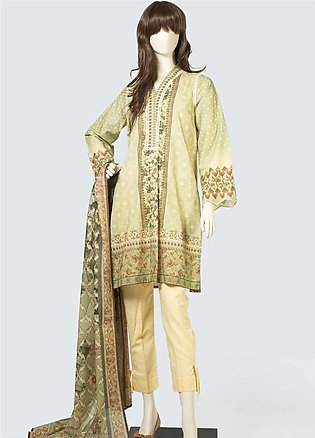 Saya Printed Lawn Unstitched 3 Piece Suit SY19S 4B - Summer Collection
