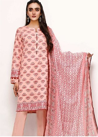 Gul Ahmed Printed Lawn Unstitched 3 Piece Suit GA20SE-7 CL-953 - Spring / Summe…